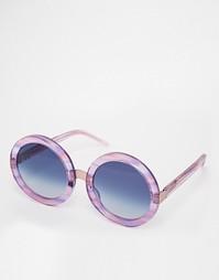 Круглые солнцезащитные очки Wilfox Malibu Wildfox