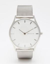 Серебристые часы Skagen SKW2342 - Серебряный
