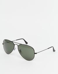 Солнцезащитные очки-авиаторы Ray‑Ban - Черный
