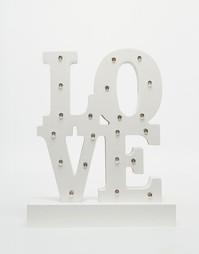Светящееся украшение Love Sass & Belle - Белый