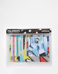 Магнитные рамки в стиле Polaroid от Doiy Memphis - Мульти