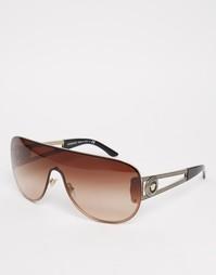 Солнцезащитные очки‑авиаторы Versace - Золотой