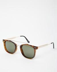 Квадратные солнцезащитные очки в черепаховой оправе Spitfire Mainstrea