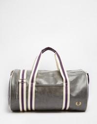 Классическая сумка Fred Perry - Серый