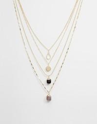 Многоярусное ожерелье ALDO Godenzo - Золотой