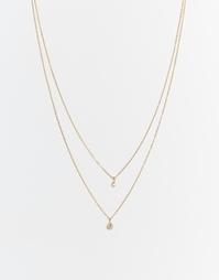 Двойное ожерелье Child Of Wild Moon - Золотой