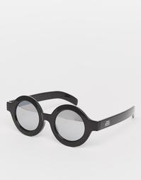 Круглые солнцезащитные очки Cheap Monday Moon - Черный