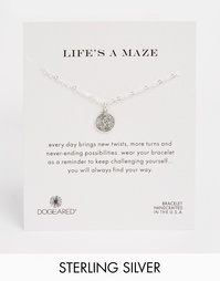 Серебряный браслет с компасом Dogeared Lifes A Maze - Серебряный