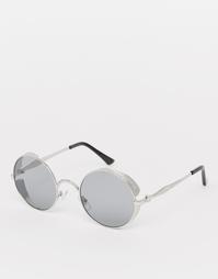 Круглые солнцезащитные очки с дымчатыми линзами Jeepers Peepers