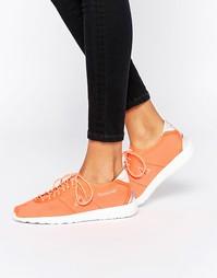 Неоновые кроссовки Le Coq Sportif Wendon Levity - Неоновый оранжевый