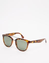 Солнцезащитные очки в черепаховой оправе AJ Morgan - Черепаховый