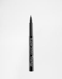 Сверхтонкий маркер для глаз NYX - Графитовый черный