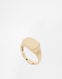 Кольцо с печаткой Pilgrim - Золотой