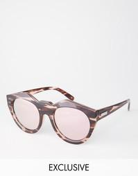 Зеркальные солнцезащитные очки Le Specs Exclusive Neo Noir