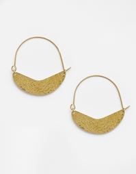 Серьги-кольца Made Gishanda - Золотой