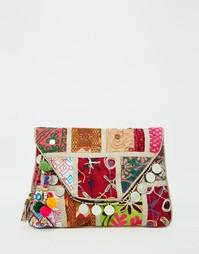Фестивальная сумка в стиле пэтчворк Raga - Мульти