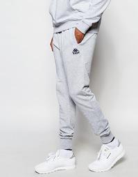 Зауженные спортивные штаны Kappa - Серый
