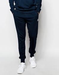 Зауженные спортивные штаны Kappa - Темно-синий