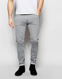 Светло-серые джинсы скинни Nudie Jeans - Grey storm (серый)