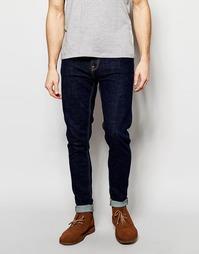 Темные супероблегающие джинсы Nudie Jeans Pipe Led - Ночная тень