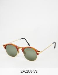 Круглые солнцезащитные очки Hindsight Vintage Beech - Черепаховый
