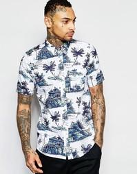 Рубашка классического кроя с короткими рукавами Carhartt Homerun Detro
