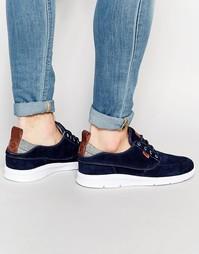 Легкие синие кроссовки Vans Brigata V4OTIVB - Синий
