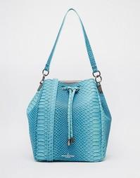 Сине-зеленая сумка дафл Pauls Boutique Hattie - Сине-зеленый