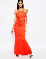 Платье макси с лямками накрест на спинке Jessica Wright Tatiani