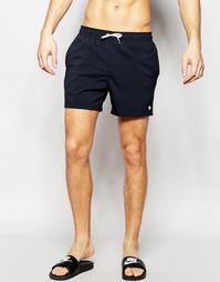 Однотонные шорты для плавания Abercrombie & Fitch - Черный