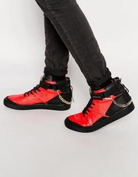 Высокие кроссовки Cayler & Sons Hamachi - Красный
