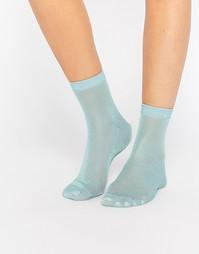 Носки с блестками ASOS - Мятный