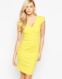 Облегающее платье Jessica Wright Alice - Желтый