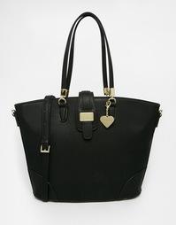 Черная структурированная сумка-шоппер Marc B - Черный