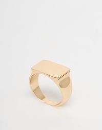 Кольцо-печатка Selected Femme Lira - Золотой