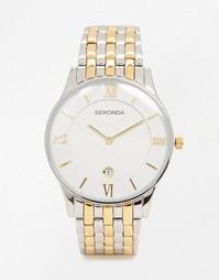 Часы из нержавеющей стали и других металлов Sekonda 1138 - Серебряный