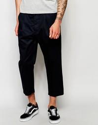 Укороченные брюки Izzue - Темно-синий