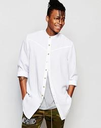 Классическая рубашка с воротником с застежкой на пуговицах The New Cou