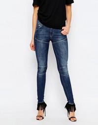 Супероблегающие джинсы с завышенной талией G-Star Elwood 5620