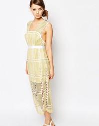 Кружевное платье миди без рукавов Alice McCall - Buttercup