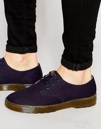 Холщовые туфли Dr Martens Delray - Синий