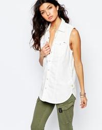 Джинсовая рубашка без рукавов G‑Star Tacoma - Белый