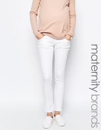 Эластичные джинсы скинни Isabella Oliver - Белый