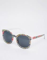 Солнцезащитные очки в стиле ретро AJ Morhan - Цветочный