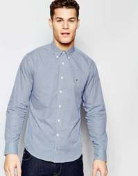 Классическая рубашка в клеточку Tommy Hilfiger - Синий