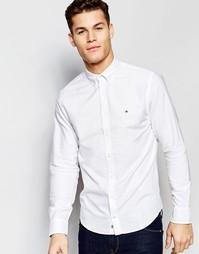 Белая оксфордская рубашка классического кроя Tommy Hilfiger - Белый