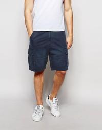 Темно-синие шорты-карго Hollister - Темно-синий