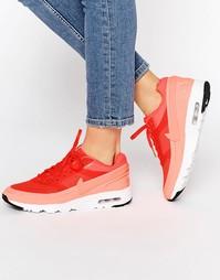 Яркие кроссовки Nike Crimson Air Max BW - Ярко-малиновый
