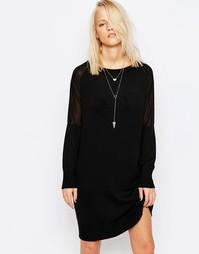 Платье-джемпер с длинными рукавами Religion Genre - Jet black