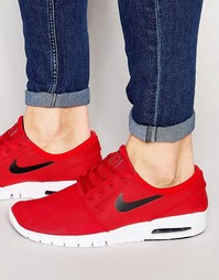 Кроссовки Nike SB Stefan Janoski Max 631303-602 - Красный
